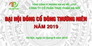 đại hội cổ đong cty THỰC PHẨM 2018
